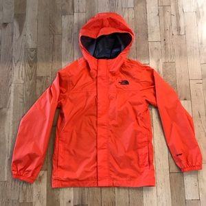 North face  boys rain jacket  Size 10-12